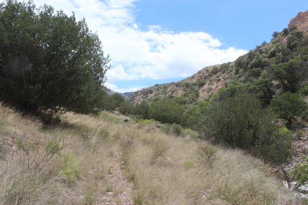Black Jack Cave Arizonaand A Couple Of Old Ranch Sites On