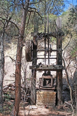 Gold mining equipment stamp mill
